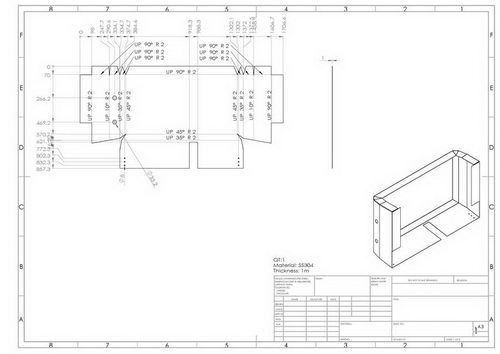 با استفاده از سالیدورکس می توانید نقشه های صنعتی و تولید قطعات را تهیه کنید