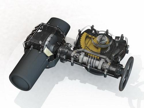 طراحی محصول های صنعت نفت و گاز با استفاده از نرم افزار سالیدورکس