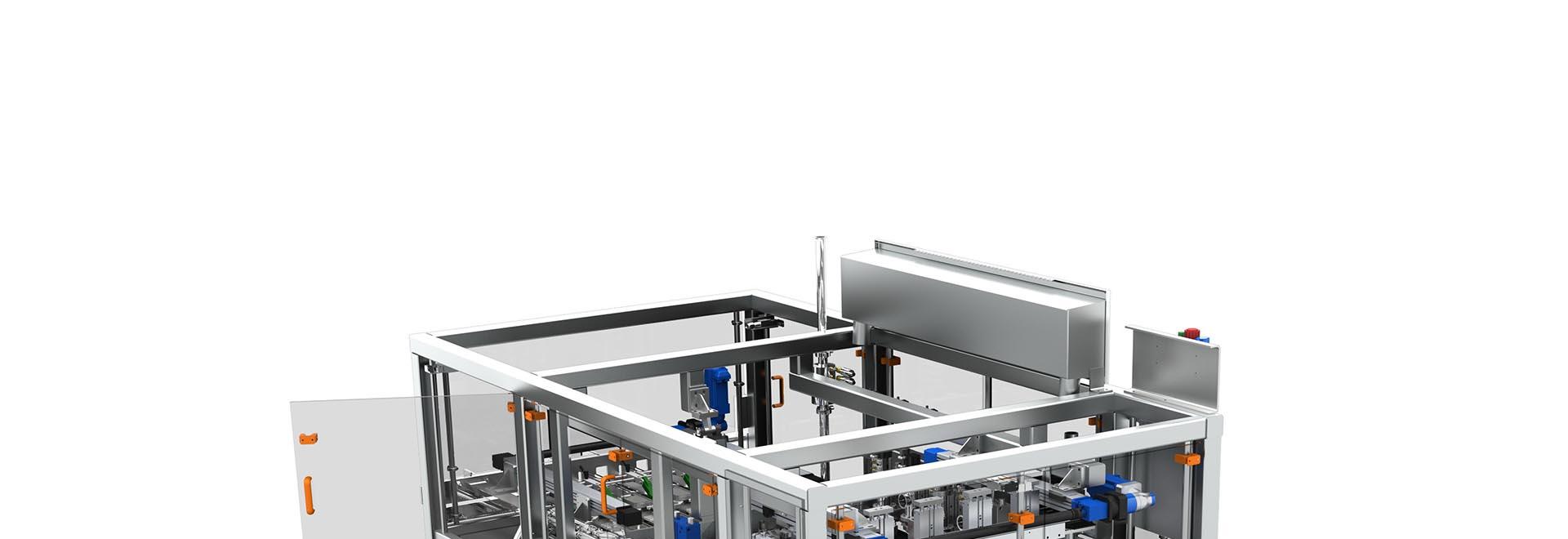 مهندسی معکوس دستگاه، ماشین آلات و خط تولید