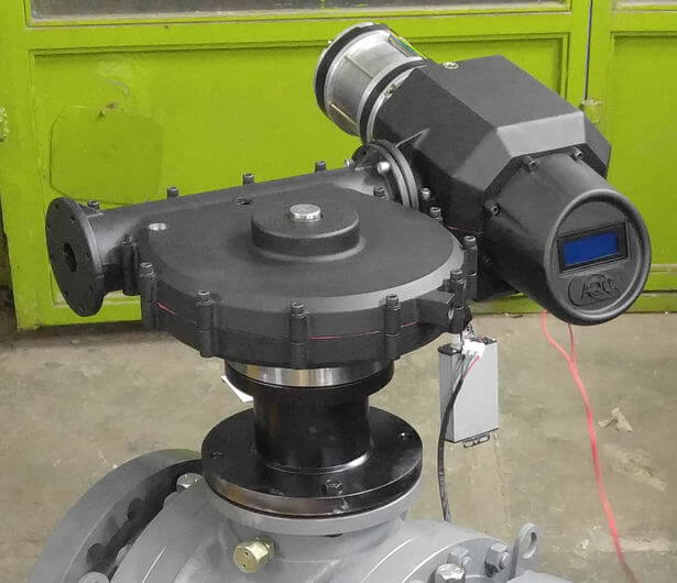 prototype of motorized valve wich is made by ARACo