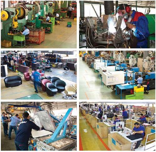 تولید مبلمان و صندلی اداری در ایران