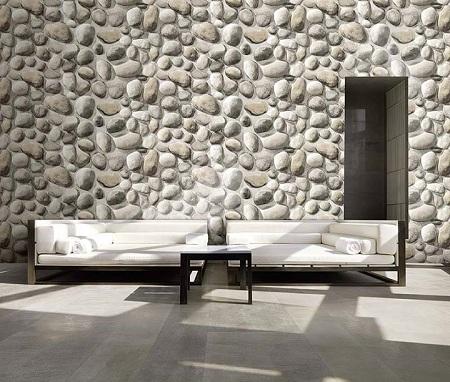 کاغذ دیواری طرح سنگ طبیعی