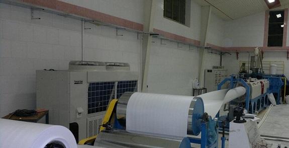 شروع تولید کاغذ دیواری و کامل شدن کامل شدن مراحل تولید
