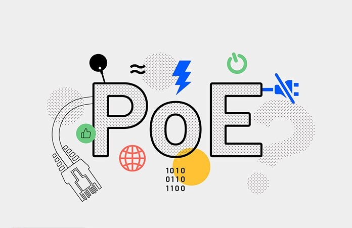 تکنولوژی poe در دوربین مدار بسته