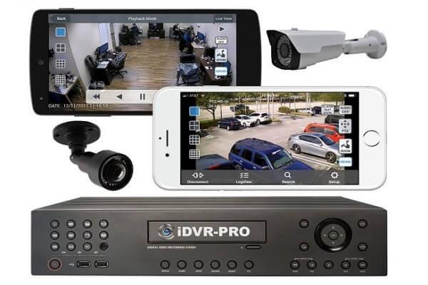 کنترل دوربین مدار بسته از طریق موبایل