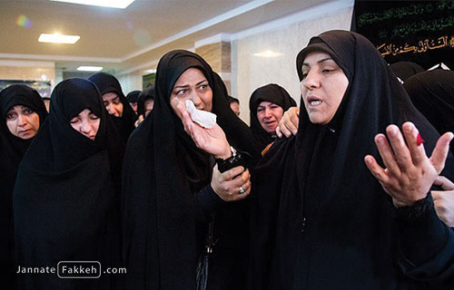 مادر شهید محمدرضا دهقان امیری