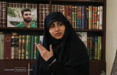 خواهر شهید محمدرضا دهقان امیری