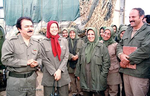 منافقین مسعود رجوی مریم رجوی اسلام آابد