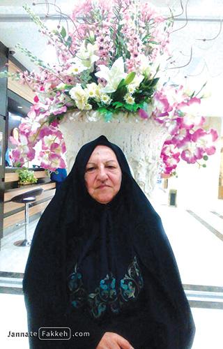 مادر شهید سعید علیزاده