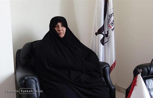 مادر شهید حجت اسدی