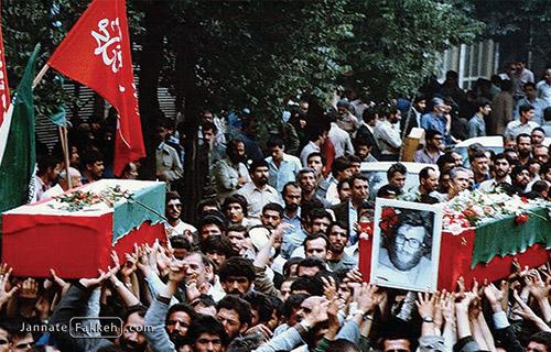 مراسم تشییع شهید سردار محمد بروجردی