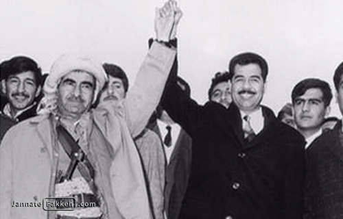 صدام حسین قرارداد الجزایر