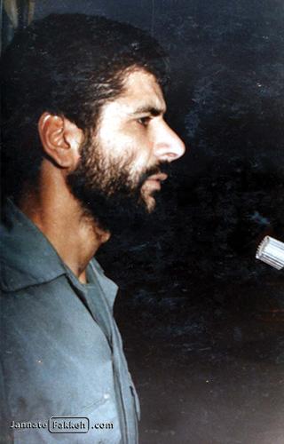 شهید حاجعباس کریمی فرمانده لشکر ۲۷ محمدرسول الله