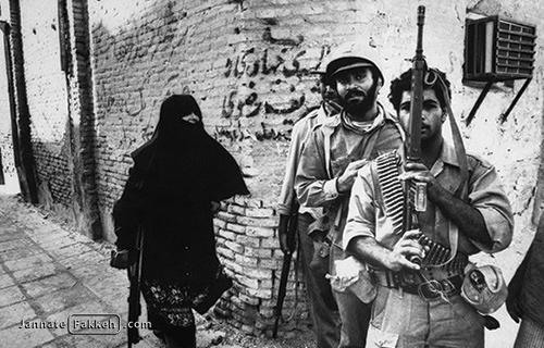 نقش زنان در آزادی خرمشهر