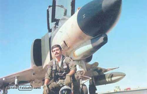 خلبان جانبار محمدرضا قرهباغی