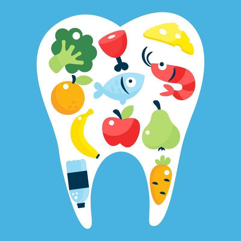 میوه و دندان