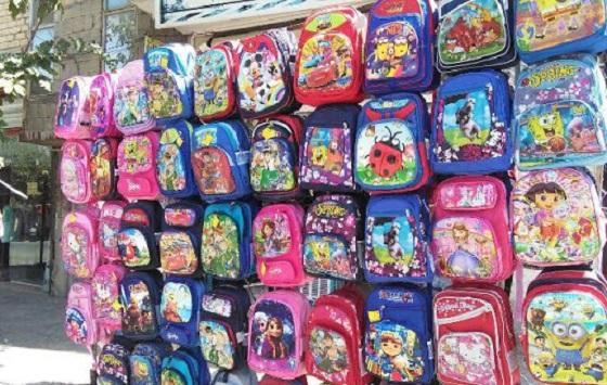 چند کیف برای فروش در دوره های شروع مدرسه