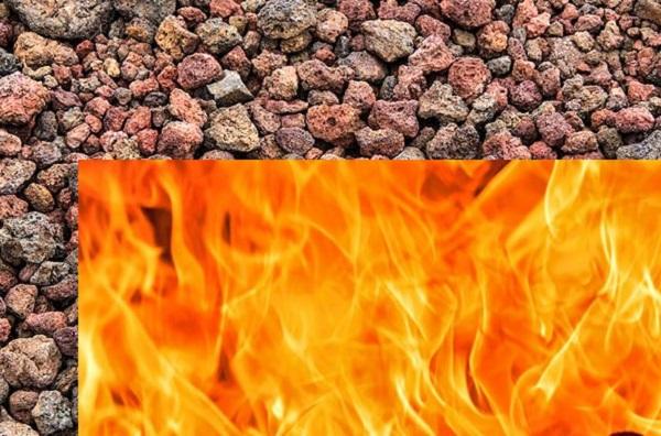 پوکه معدنی مقاوم در برابر آتش سوزی