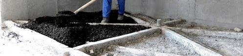 کف سازی از کاربرد های پوکه بادامی