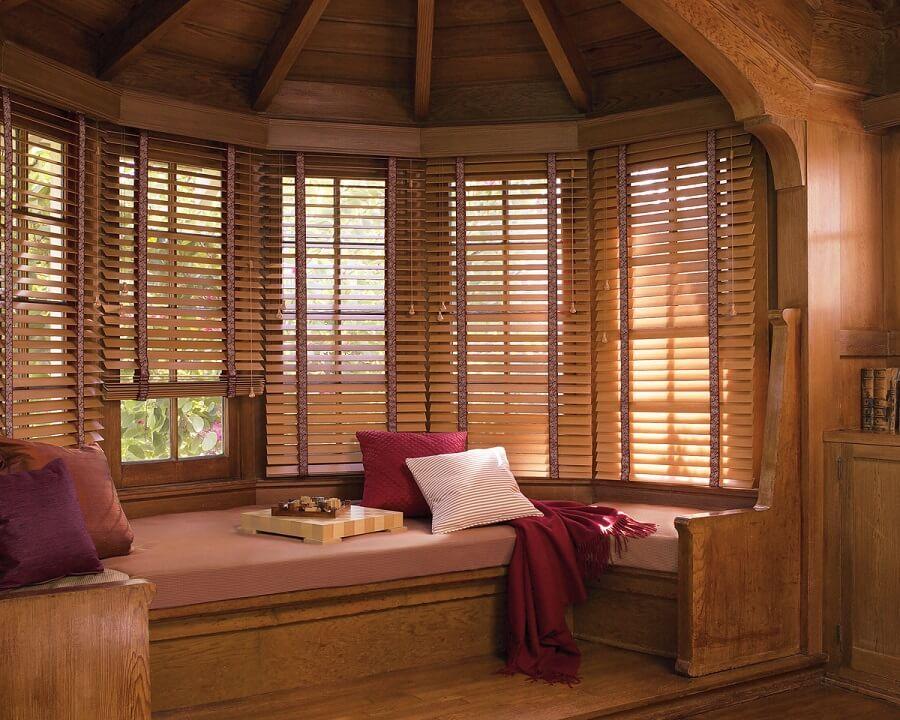 راهنمای خرید کرکره چوبی + عکس های پرده های چوبی جدید