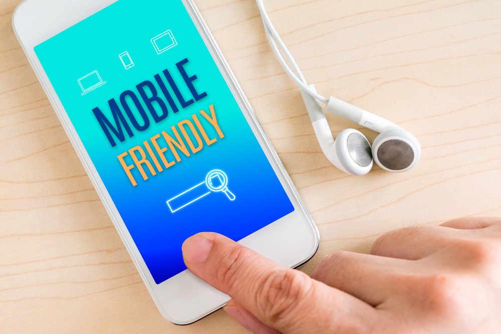 آپدیت اجرای سایت های mobile-friendly