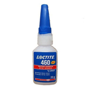 Loctit glue 460 low odor without whitening low viscosity and high strength glue