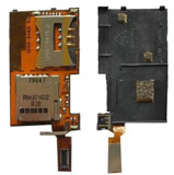 Sony Ericsson K770i / T650i Flex Cable Sim Tray Reader PCB Board Connector