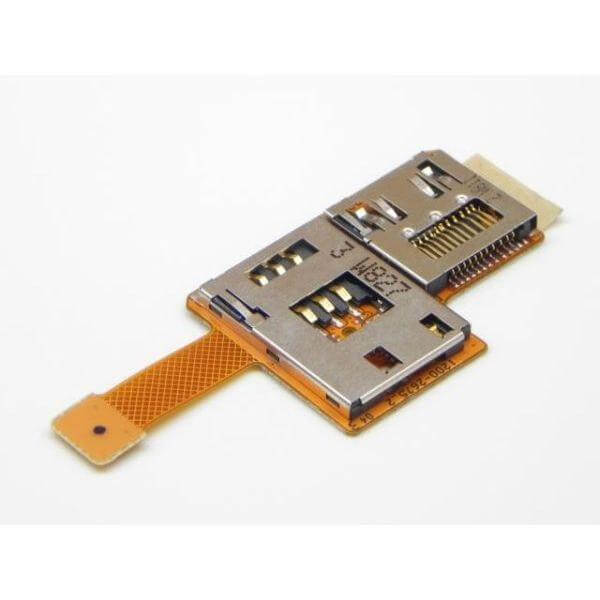 Sony Ericsson K850i Flex Cable Sim Tray Reader PCB Board Connector