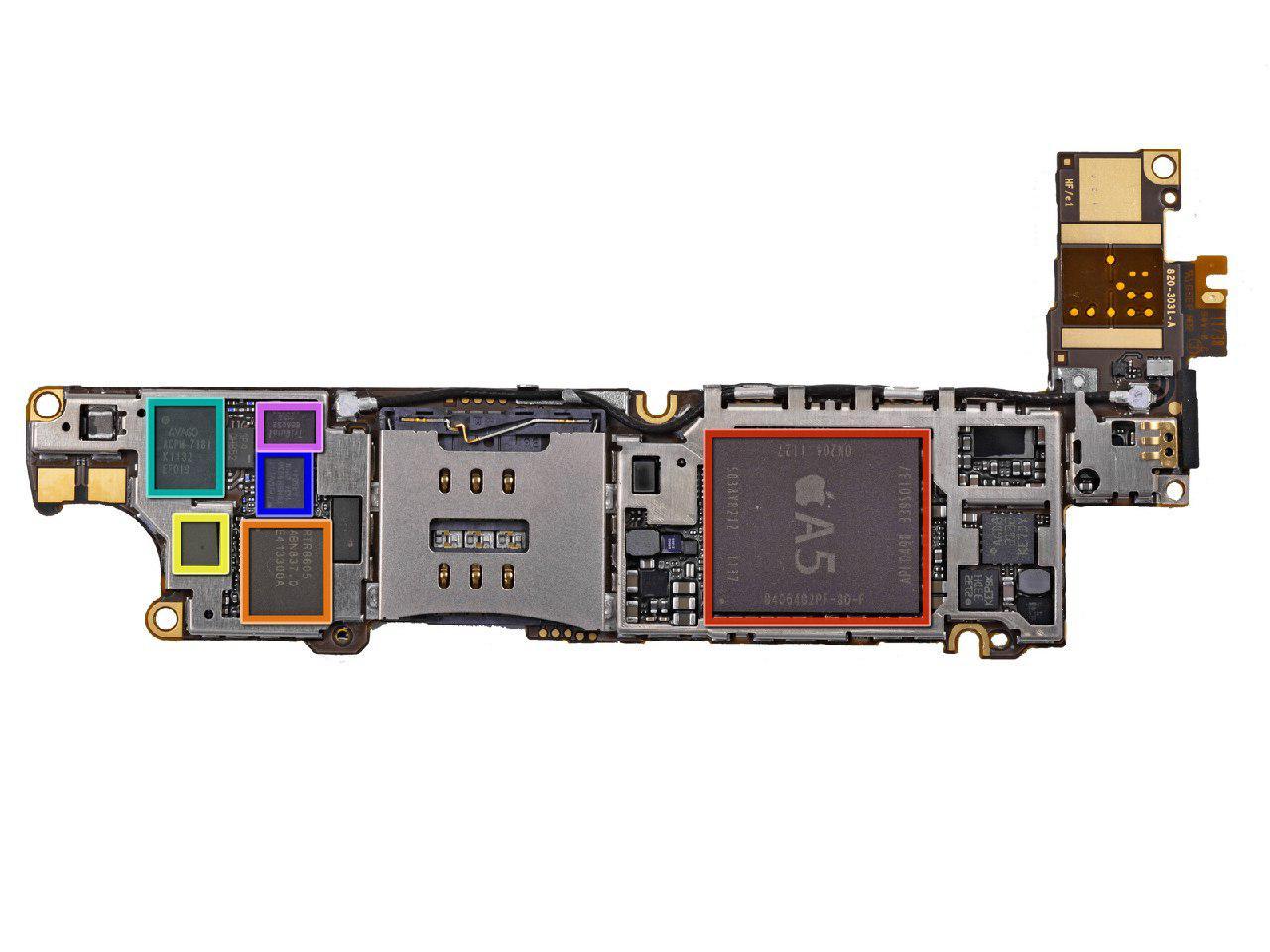 قیمت گوشی ایفون مدل a1332