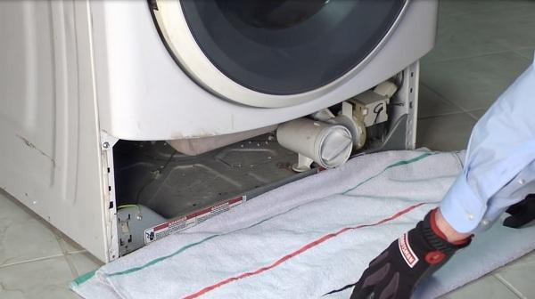 مشکلات ماشین لباسشویی ال جی