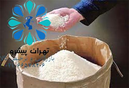 بخشنامه 261 سال 96 - ترخیص محموله های برنج