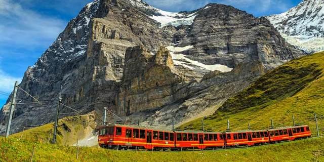 سفر با قطار به اروپا
