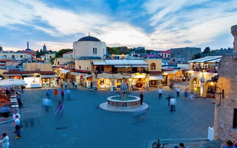 رودوس یونان