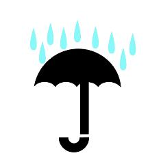 نماد چتر بسته بندی