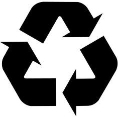 نماد بازیافت محصول