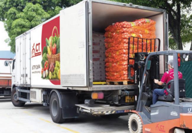 بارگیری در صادرات میوه