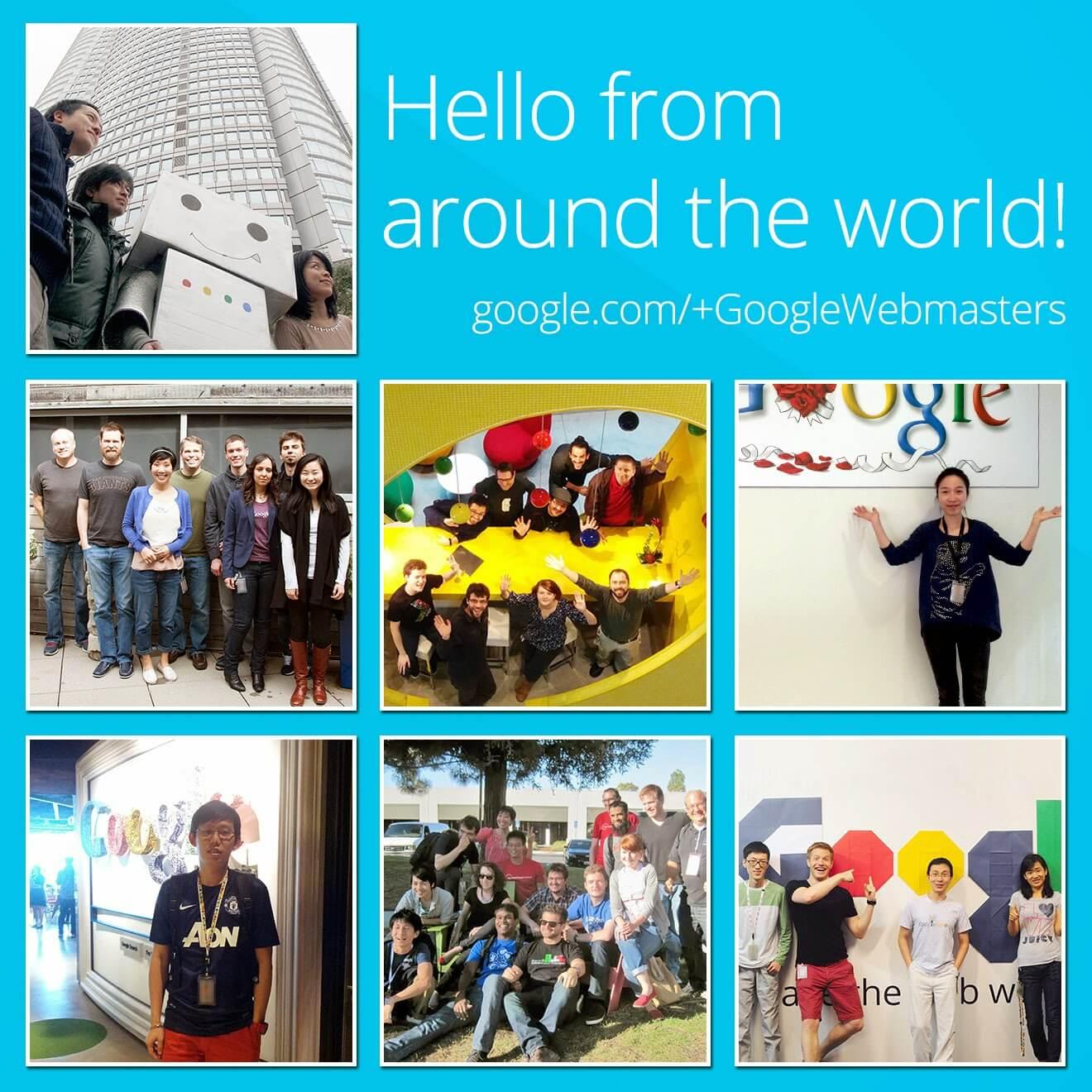 معرفی صفحه Google + جهانی برای مدیران وب