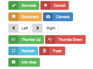 ایجاد برچسب در Bootstrap