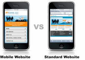 آمار ارتقا یافته عبارت های جستجو شده برای سایت های موبایل جداگانه