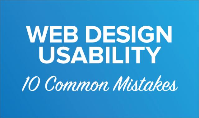 10 اشتباه مهم در طراحی سایت