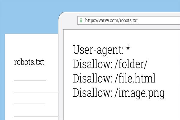 دستورات فایل robots.txt