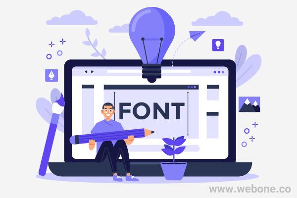 نکاتی در مورد انتخاب فونت در طراحی سایت