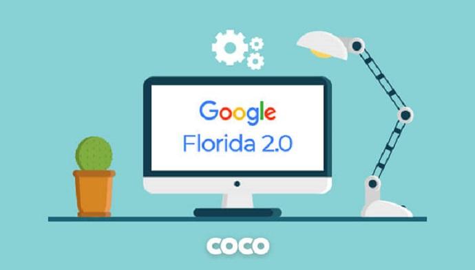الگوریتم فلوریدا گوگل