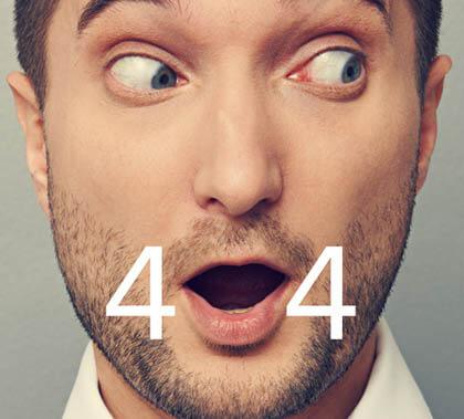 صفحه های 404 دیگر یک کابوس نیستند!