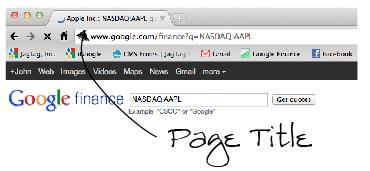 نکات مهم در مورد عنوان صفحات سایت