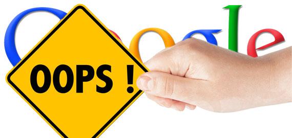 نحوه پاک کردن صفحه وب از گوگل