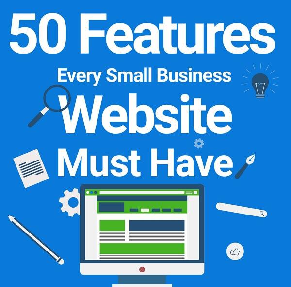 50 ویژگی ضروری در وب سایت کسب و کارهای کوچک
