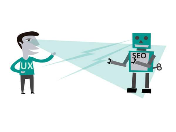 نبرد یا صلح بین UX و SEO ؟
