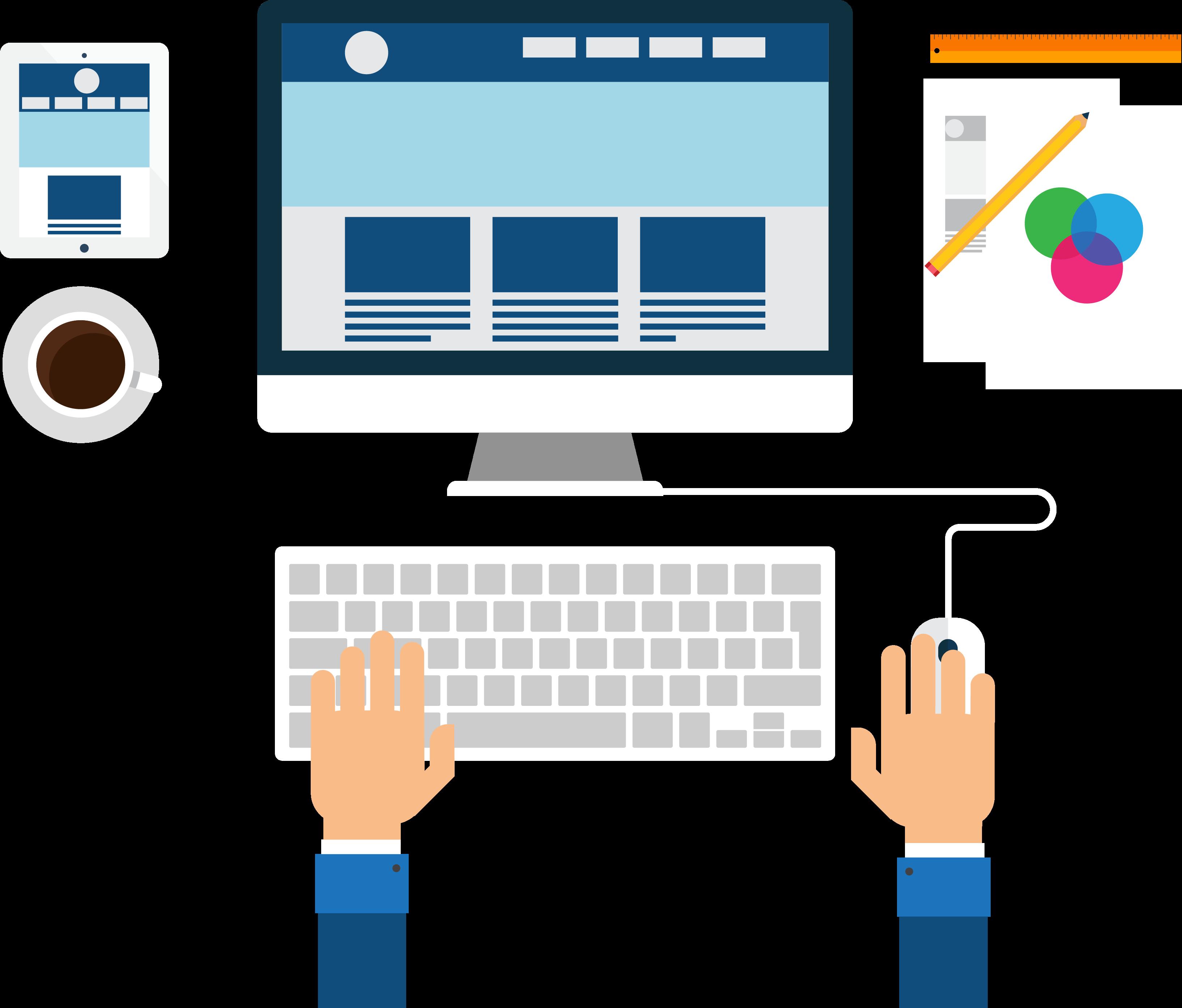 المان های کنتراست و تکرار در طراحی سایت