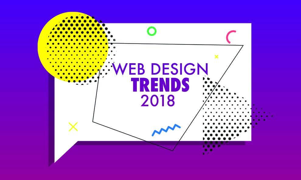 ترندهای طراحی سایت در سال 2018